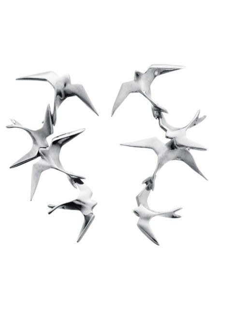 freedom flock earrings